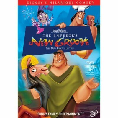 The Emperor's New Groove - The New Groove Edition, Good DVD, Patti Deutsch, Tom