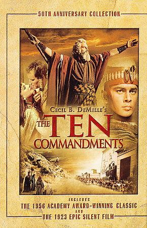 NEW Ten Commandments (DVD) by