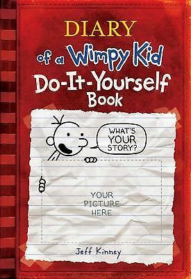 Diary of a Wimpy Kid Do-It-Yourself Book by Kinney, Jeff