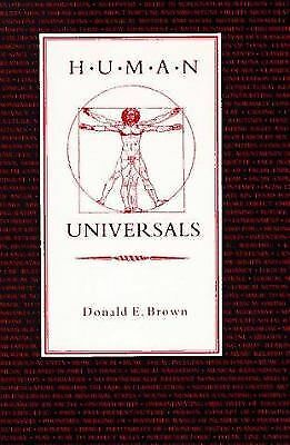 Human Universals by Brown, Donald