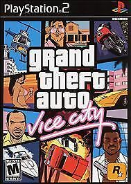 Grand Theft Auto Vice City, Good Playstation 2 Video Games