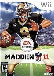 Madden NFL 11 - Nintendo Wii, Good Nintendo Wii, Nintendo Wii Video Games