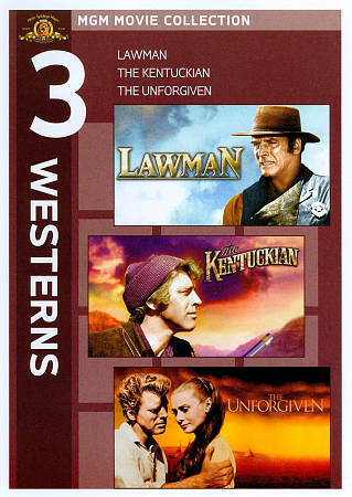 Lawman / Kentuckian / Unforgiven, Good DVD, ,