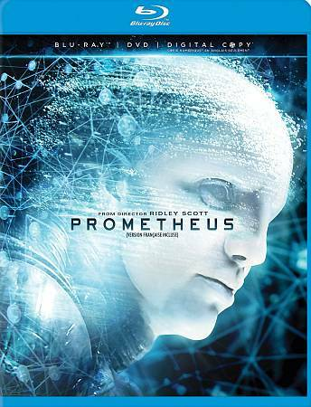 Prometheus, Good DVD, Logan Marshall-Green, Guy Pearce, Idris Elba, Charlize The