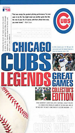 Chicago Cubs Legends - Great Games Collector's Edition, Very Good DVD, Ernie Ban