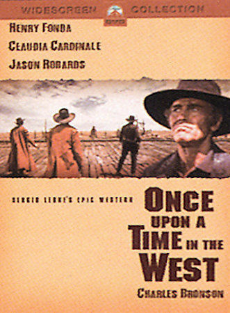 Once Upon a Time in the West, Good DVD, Henry Fonda, Claudia Cardinale, Jason Ro