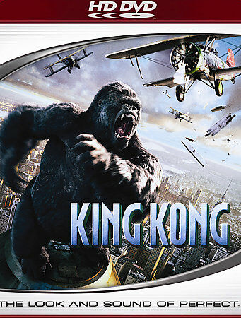 King Kong [HD DVD], Excellent DVD, Colin Hanks, Thomas Kretschmann, Andy Serkis,