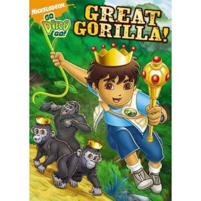 Go Diego Go!: Great Gorilla!, Good DVD, ,