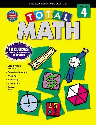 Total Math, Grade 4, School Specialty Publishing, Good Book