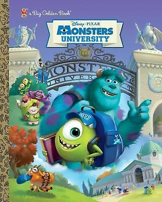 Monsters University Big Golden Book (Disney/Pixar Monsters University) (a Big Go