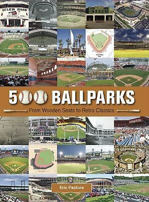 500 Ballparks, Pastore, Eric, Good Book