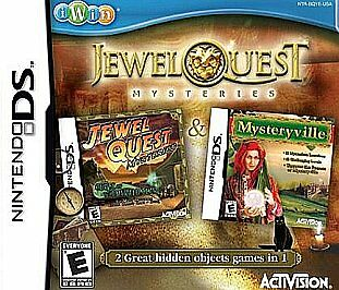 Jewel Quest Mysteries - Nintendo DS, Good Nintendo DS, Nintendo DS Video Games
