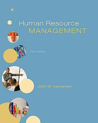 Human Resource Management, Ivancevich, John, Good Book