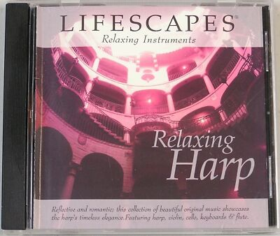 Relaxing Harp - Lifescapes Relaxing Instruments Audio CD)