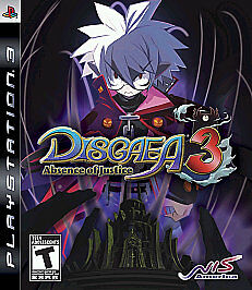 Disgaea 3 Absence of Justice - Playstation 3 by Atlus
