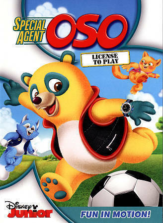 Special Agent Oso: License To Play, Good DVD, ,