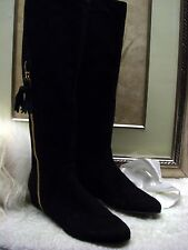 Authentic Stuart Weitzman Tass Hidden Wedge Boot Size 8.5 $695
