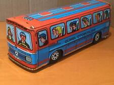 Tinplate Toy Mercedes Bus Coach Gurel Otobusleri M. Bayboru Turk Mali Turkey VGC