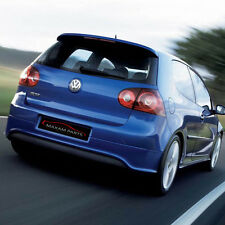 -= VW GOLF V 5 R32 REAR BUMPER SPOILER WITHOUT EXHAUSTS HOLES= ABS = NEW =-