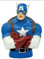 MARVEL BUST BANK CAPTAIN AMERICA