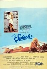 SPLASH - HANKS / HANNAH / MERMAID / HOWARD - ORIGINAL SMALL FRENCH MOVIE POSTER
