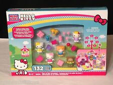 NEW Mega Bloks HELLO KITTY Fun at the Arcades #10974 - 132 PCS kitty & friends