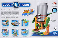 Educational DIY 6 in 1 Solar Eco-friendly Robot Kits Science Toys for Kids