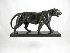 ORIGINAL FINE BRONZE TIGER BY ANTOINE LOUIS BARYE (1795-1875) SIGNED C1850'S
