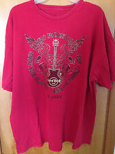 "Hard Rock Cafe San Juan - ""Save the Planet""  Winged Guitar T-shirt  Men's XXL"