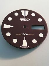 Seiko 6309 Diver Black Dial Watch Part For Modder - 4.00 Crown