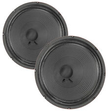 "Pair Eminence The Governor 12"" Guitar Speaker Red Coat 16ohm 102dB Replacement"