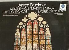 BRUCKNER Mass In E Minor 1971/78 LP SEALED! Martini/Winds Of The Vienna Symphony