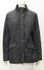 Barbour Women's Navy Nylon Cavalry Polarquilt Jacket Size US 16