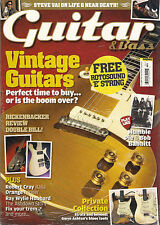 GUITAR & Bass Magazine October 2012 Steve Vai Play Like Humble Pie SS + E String