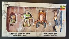 DISNEY STORE TOY STORY D23 EXPO LE 300 ORNAMENT SET BUZZ WOODY SAVE 5% WORLDW