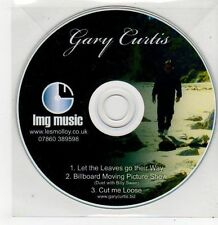 (FF850) Gary Curtis, Let The Leaves Go Their Way - DJ CD