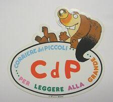 ADESIVO anni '80 / Old Sticker Vintage I RONFI corriere dei piccoli (cm 15 x 15)