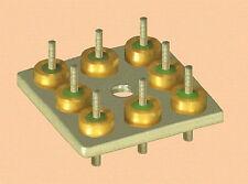Lot (3) CDI CNA-2011-02 OCTAL(!) rfi filter feedthrough assy .01 ufd 50 volts