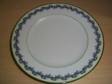 "Early R.S. Tillowitz Silesia 8"" Floral Plate Wreath Signature Mark"