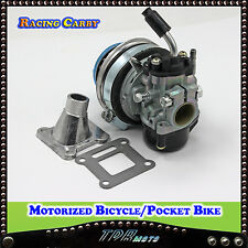 RACING CARBURETTOR CARBY FOR 2 STROKE 49 CC Mini Dirt Quad Pocket Bike