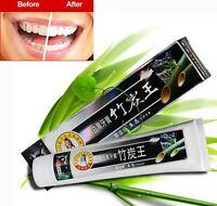 160g Bamboo Charcoal Teeth Whitening Black Toothpaste Anti Insect-resistant  30