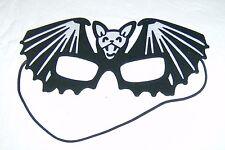 Fledermaus Maske Farbe Schwarz