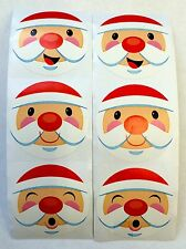 50 Holiday Santa Claus Stickers Teacher Supply Party Favors Merry Christmas