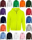 GILDAN Kapuzenjacke Jacke Heavy Blend™ Full Zip Hooded S M L XL XXL 3XL 4XL 5X-2