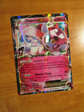 Pokemon DIANCIE EX Card FATES COLLIDE Set 72/124 XY X and Y Ultra Rare 150 HP