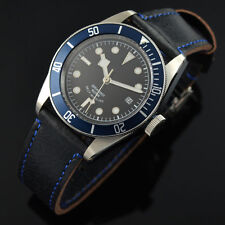 41mm Parnis Corgeut Sapphire Glass Blue Bezel Miyota Automatic Men's Watch