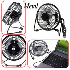 Notebook Computer Portable Mini Super Mute PC USB Cooler Cooling Desk Fan Metal