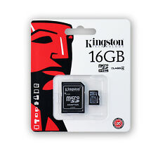 Kingston Technology 16GB Micro SD HC Class 4 Memory Card for Samsung Devices