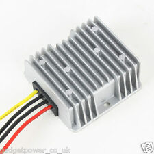 DC-DC STEP-DOWN BUCK CONVERTER 24V 12V TO 6V 10A 60W TRUCK CAR W/PROOF HEATSINK