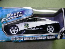 1:24 Dodge Charger Pursuit Police Car Fast and Furious Five Policia Civil Rio